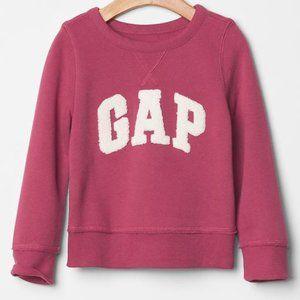 18-24 pink Baby Gap logo pullover sweatshirt new
